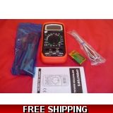 MULTIMETER WITH TEMPERATURE MEASURING